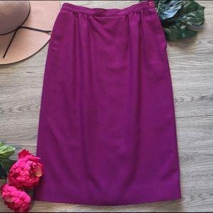 💐PENDLETON Vintage Fall Winter Wool Pencil Skirt